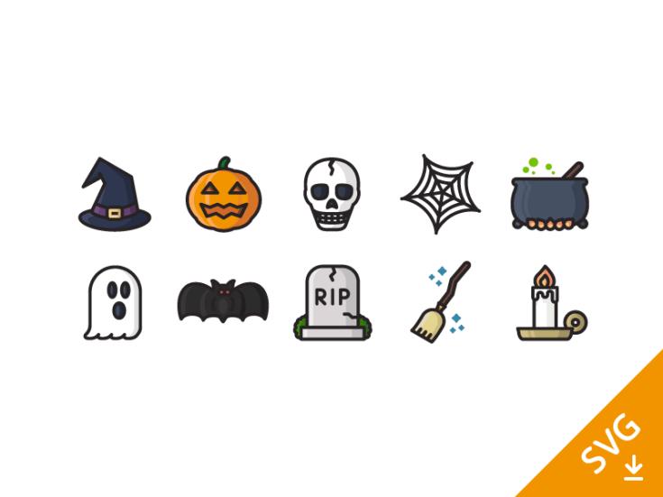 Free Halloween Icon Set