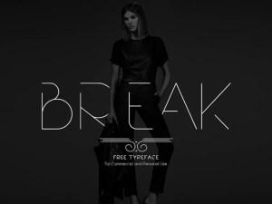 Break Free Modern Typeface