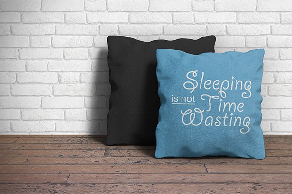 Free Pillow Mockup PSD