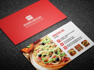 Free Restaurant Business Card Template