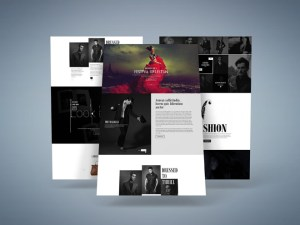 H&S : Free Fashion PSD Website Template