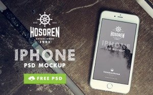 Hosoren : 10 Free Photographic iPhone 6 Mockups