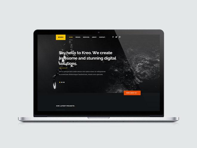 Kreo : Creative HTML5 Template for Freelancer