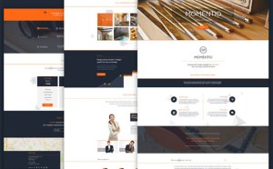 Momentio – Free Bootstrap Template for Small Business