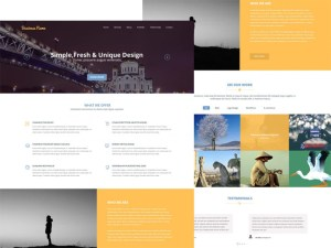 Multipurpose : Clean and Modern PSD Template