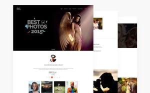 Photographer PSD Web Template