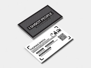 Free Minimal Photography Business Card Template