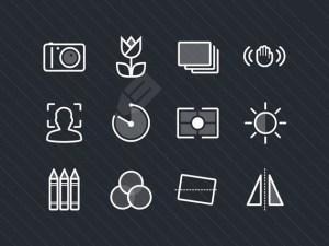 Free Photography Icon Set