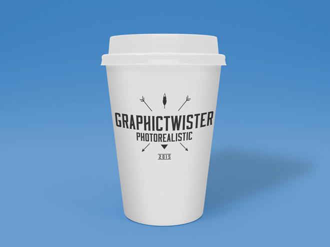 Free Photorealistic Cup Mockup