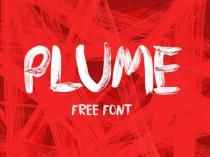 Plume - Free Brush Typeface