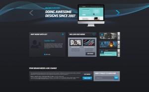 Puro Detalle : Free Creative Portfolio PSD Template