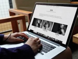 Silvia : Free Responsive Wordpress Photography Theme