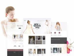 Wedding eCommerce PSD Web Template