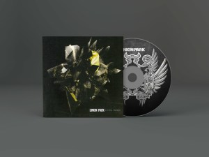 Album CD Artwork Mockup PSD