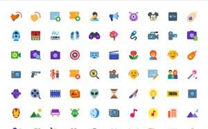 200 Free Cinema Icons (Flat and Windows 10)