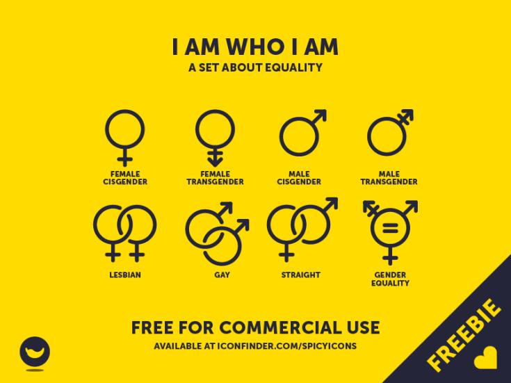 Free Gender Icon Set