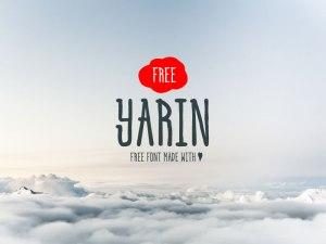Yarin Free Typeface