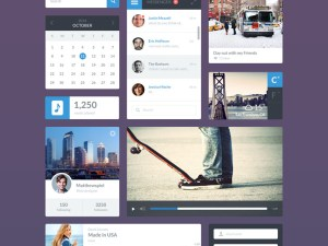 Everyday : Clean and Flat UI Kit