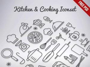 Free Cooking Icon Set