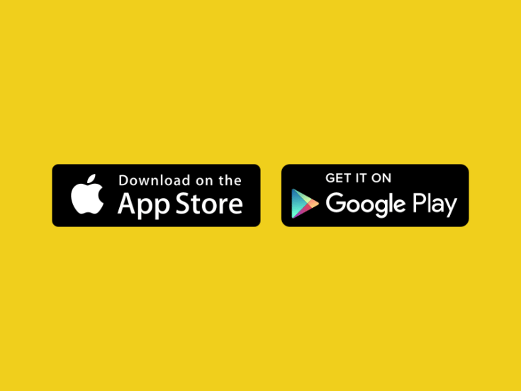 App Store and Google Play Badges