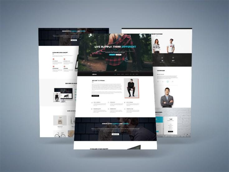 Hydroo : Creative Portfolio PSD Template