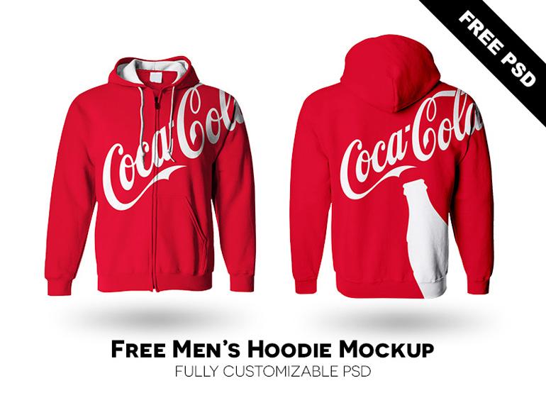 Free Realistic Hoodie Mockup PSD