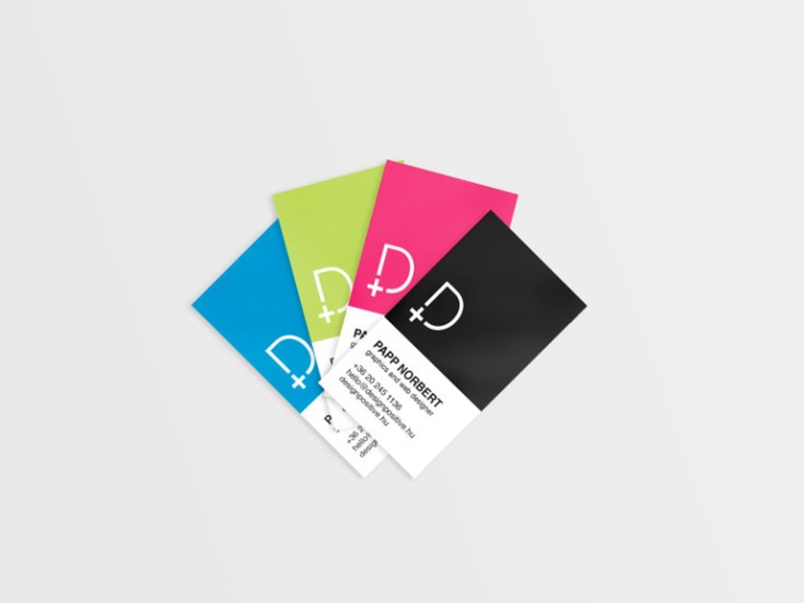 Free Pantone Business Card Template