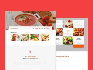 Free Responsive Restaurant HTML Template