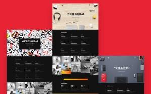 Sarbat : Free Creative PSD Template