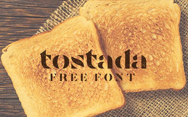 Tostada Free Font
