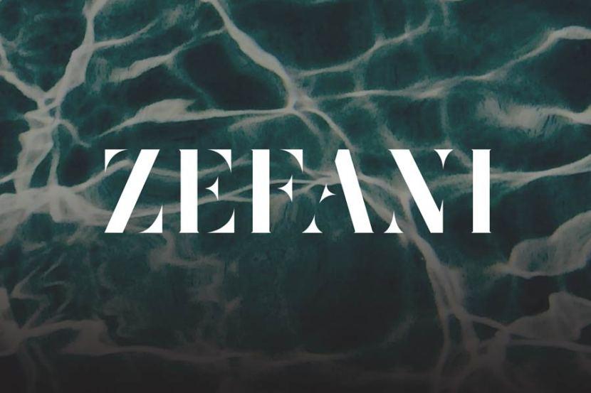 Zefani Free Modern Typeface