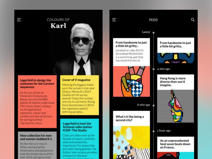 Colors of Karl SKetch UI Kit