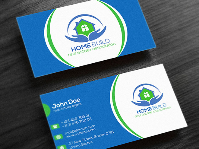 Free Real Estate Business Card Templates Free Download Freebiesjedi