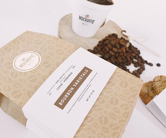 Coffee Packaging Mockup