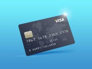 Free Credit Card Mockup PSD