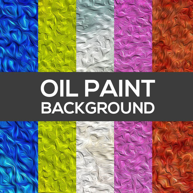 Free Oil Paint Texture Set