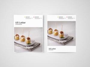 Free US Letter Flyer Mockup