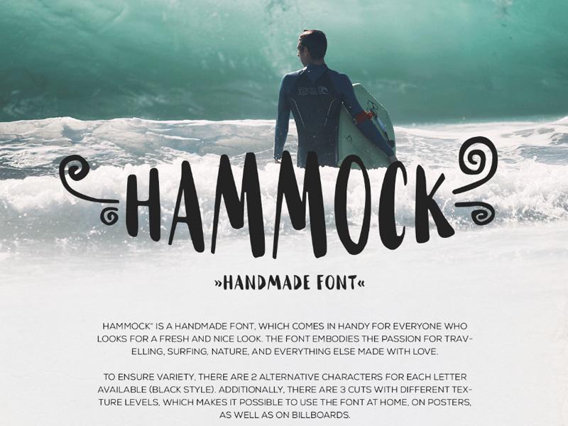 Hammock – Free Handmade Font