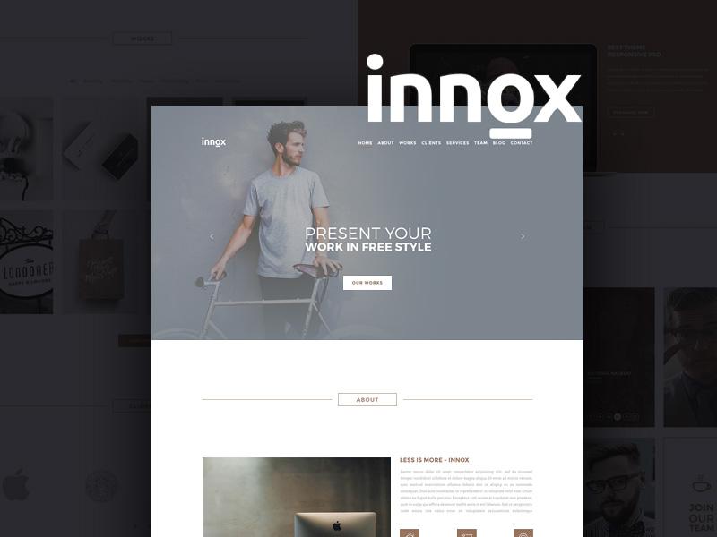 Innox : Creative PSD Web Template