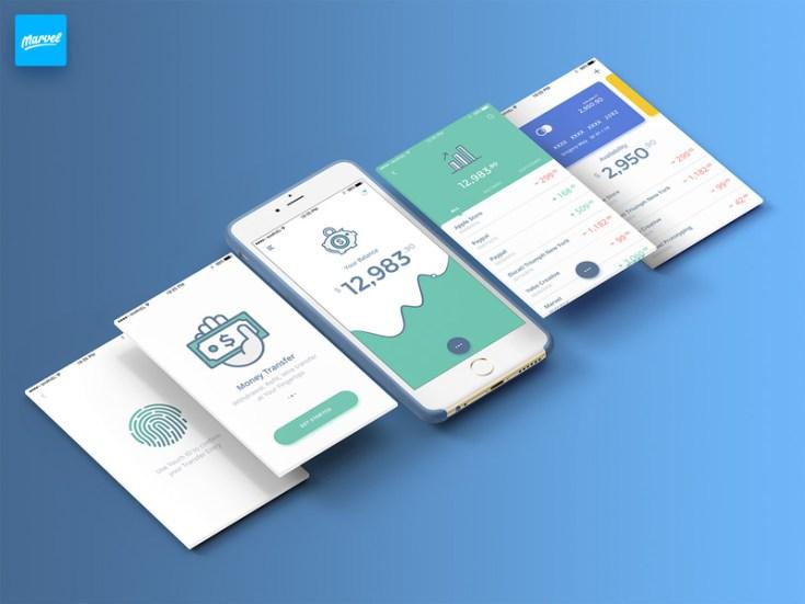 Free Mobile Banking UI Kit