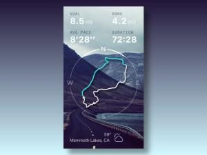 Run Route App UI