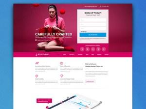 Startuprr : Startup PSD Landing Page Template