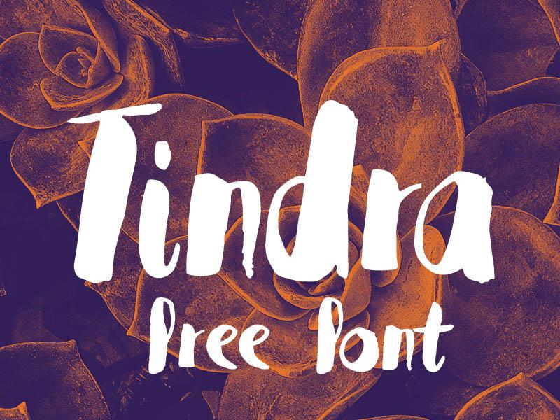 Tindra Free Typeface