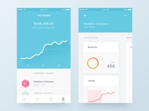 Trading App UI Sketch