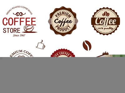 9 Free Coffee Badges