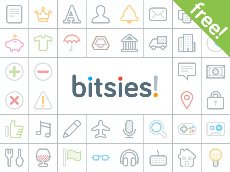 Bitsies Free Icon Set