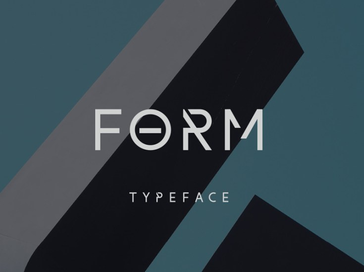 Form Free Typeface