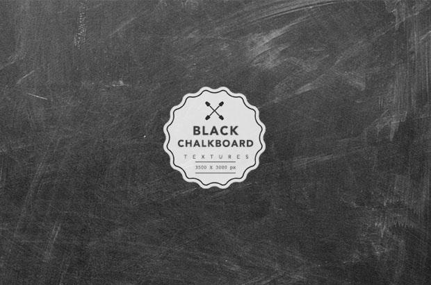 5 Free Black Chalkboard Textures