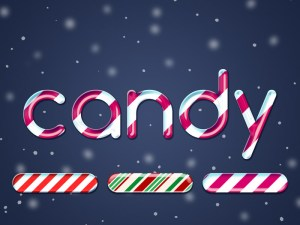 Free Candy Text Effect