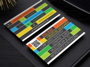 Free Colorful Business Card Template
